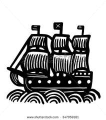 stock-vector-icon-galleon-347059181