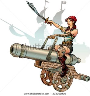 stock-vector-pirate-girl-sitting-on-cannon-323201996