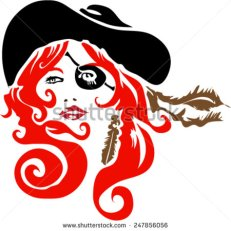 stock-vector-red-head-pirate-with-eye-patch-and-feather-247856056